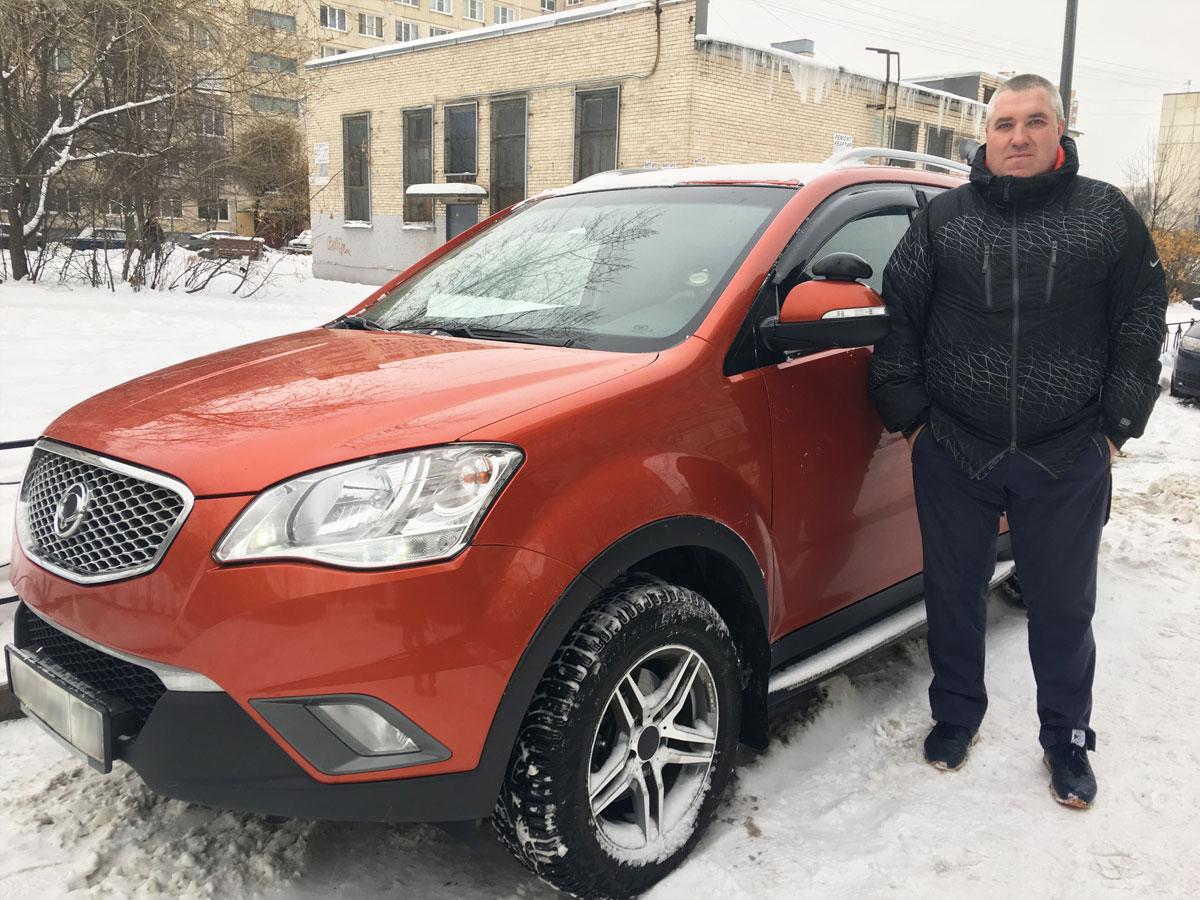 Васильев Валерий Евгеньевич – инструктор автошколы МЧС СПб