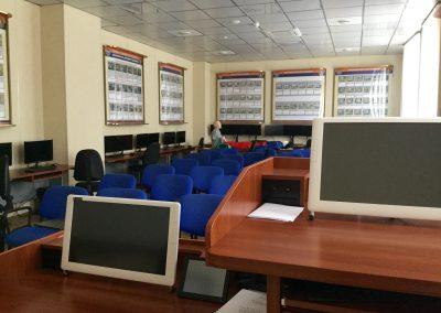 Учебный класс автошколы МЧС СПб
