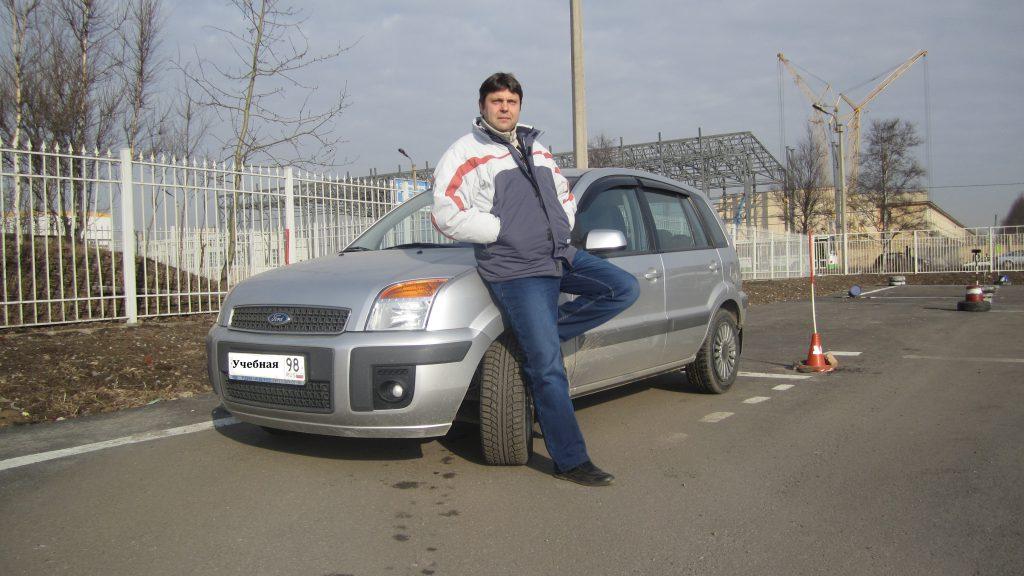 Алешкин Александр Сергеевич – инструктор автошколы МЧС СПб