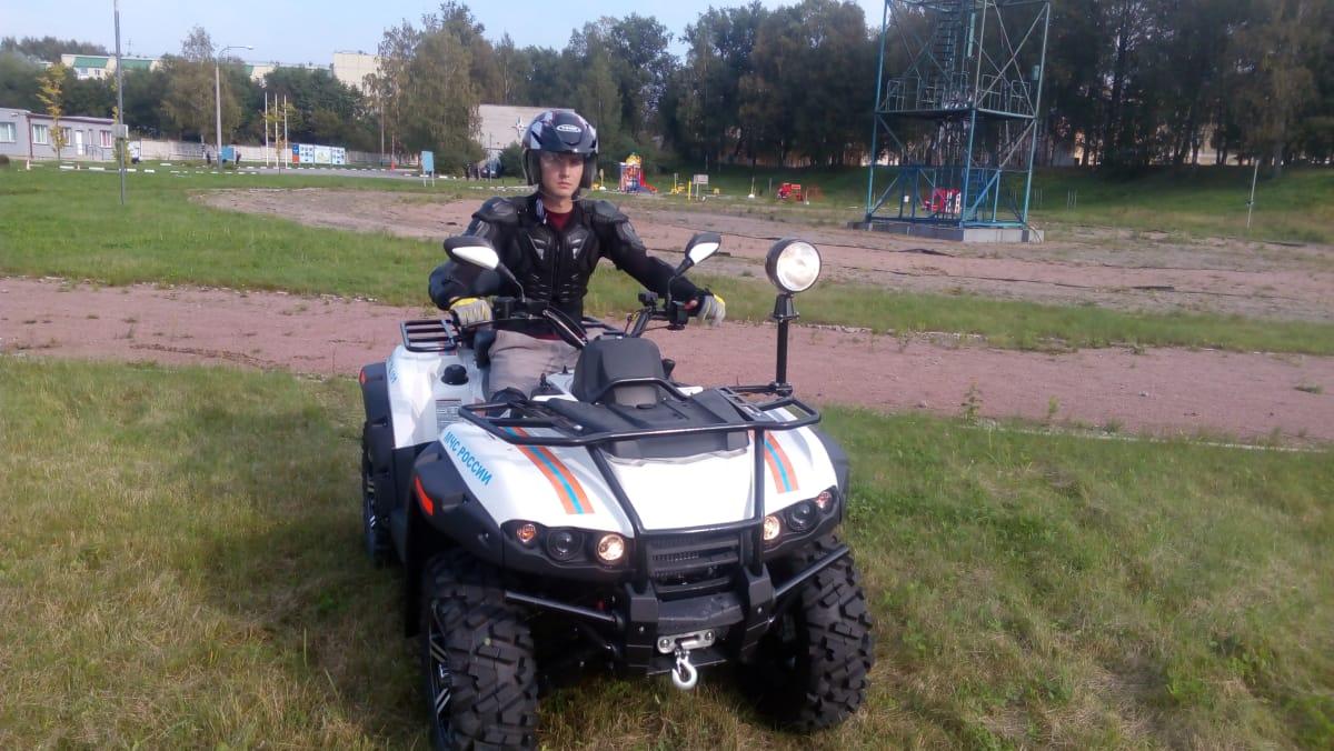 СПб Автошкола МЧС – обучение вождению квадроцикла