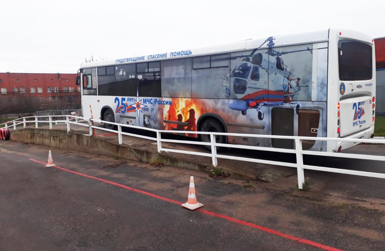Вождение автобуса категория Д сдать на права СПб