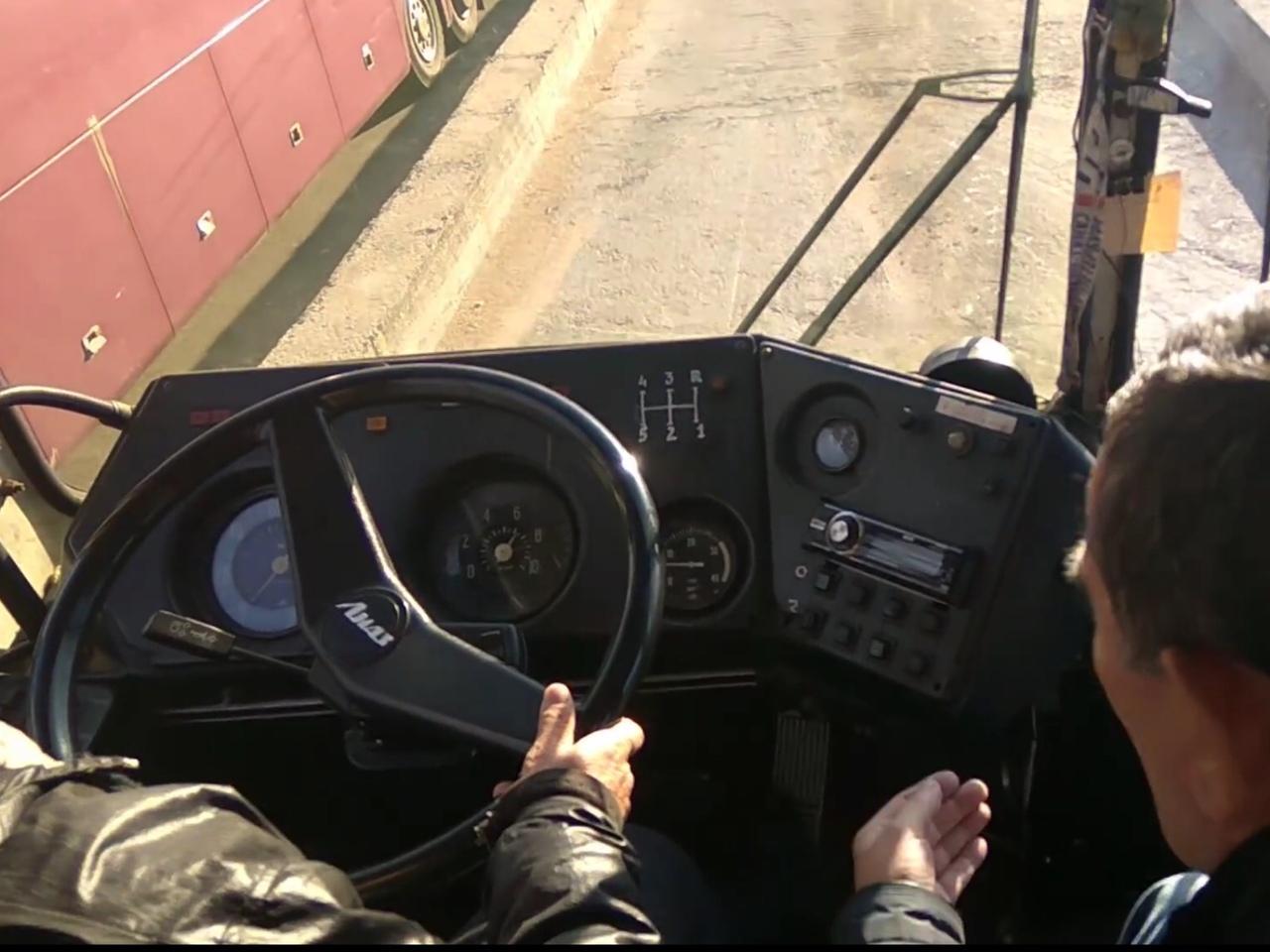 Вождение категория Д автобус СПб
