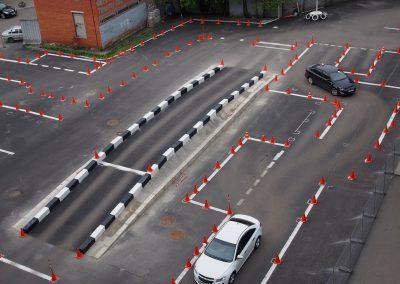 Площадка для вождения