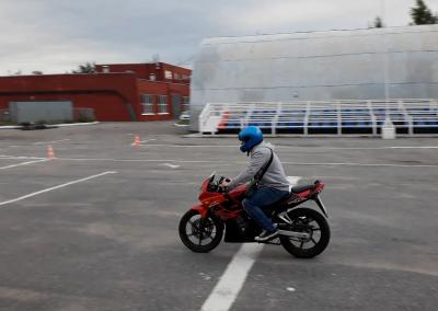 Мотоцикл в автошколе СПБ