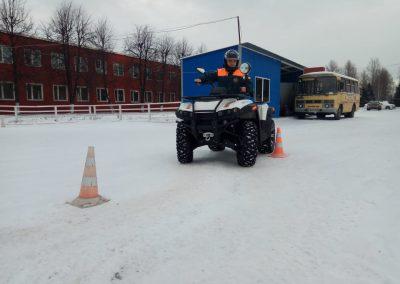 Площадка автошколы в Петербурге
