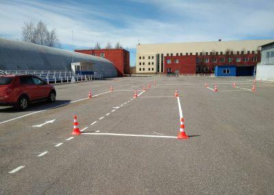 Площадка автошколы СПб