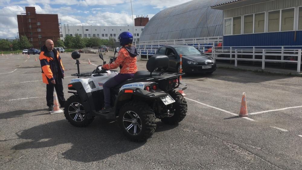 Обучение вождению квадроцикла в Автошколе МЧС СПб