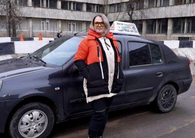 Чуйко Наталья Александровна – инструктор Автошколы МЧС (Мурино)